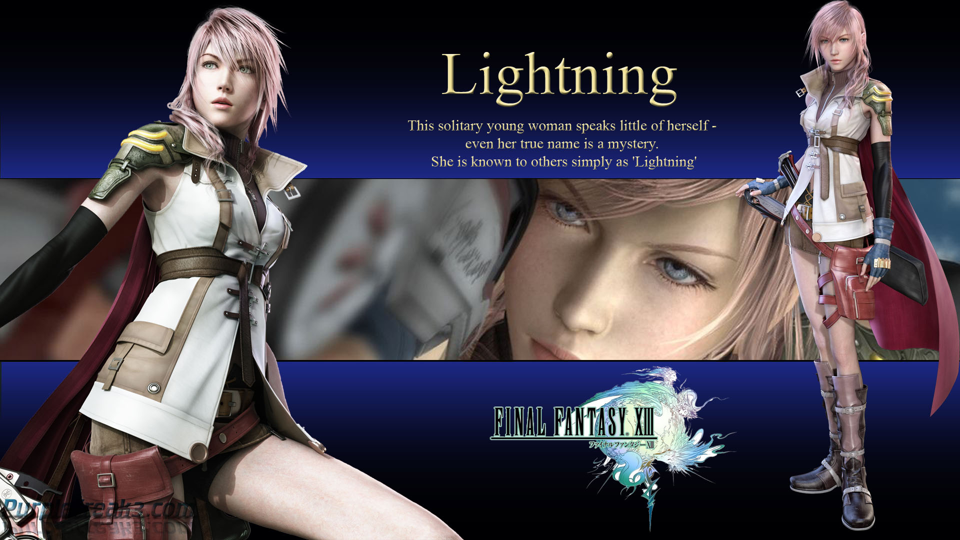 Final Fantasy XIII Lightning HD Wallpaper