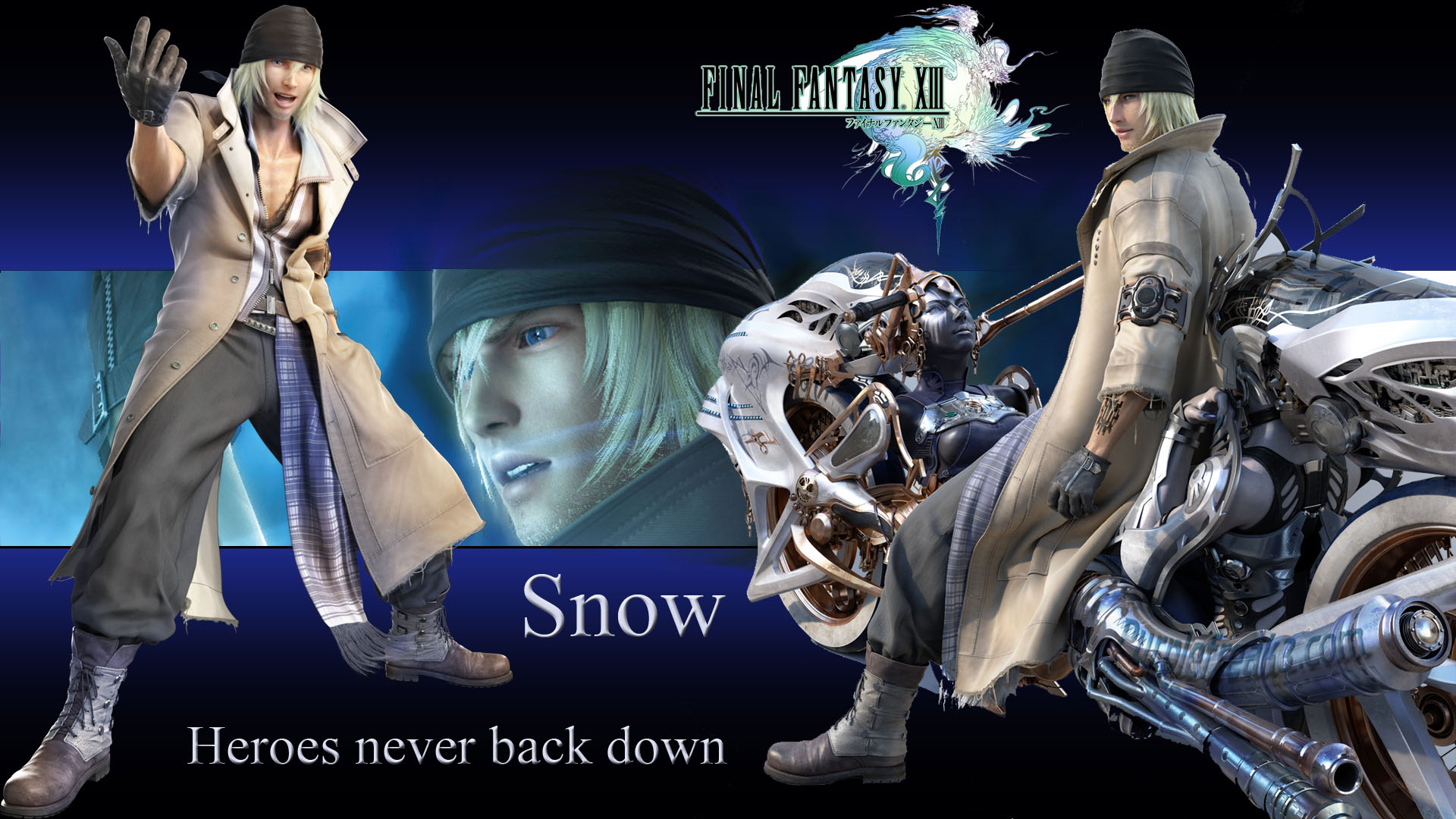 Final Fantasy XIII Snow HD Wallpaper