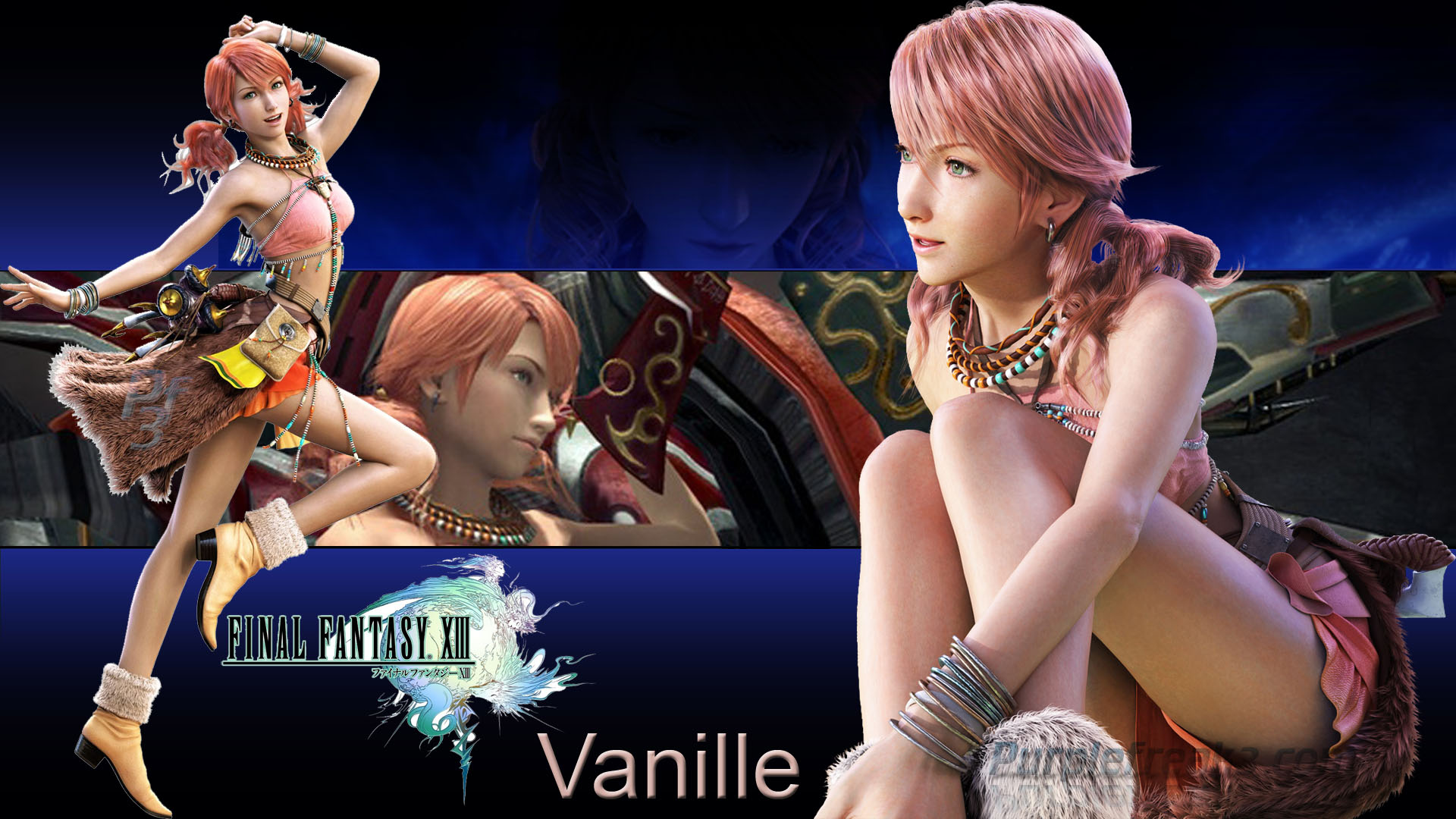 Final Fantasy XIII Vanille HD Wallpaper