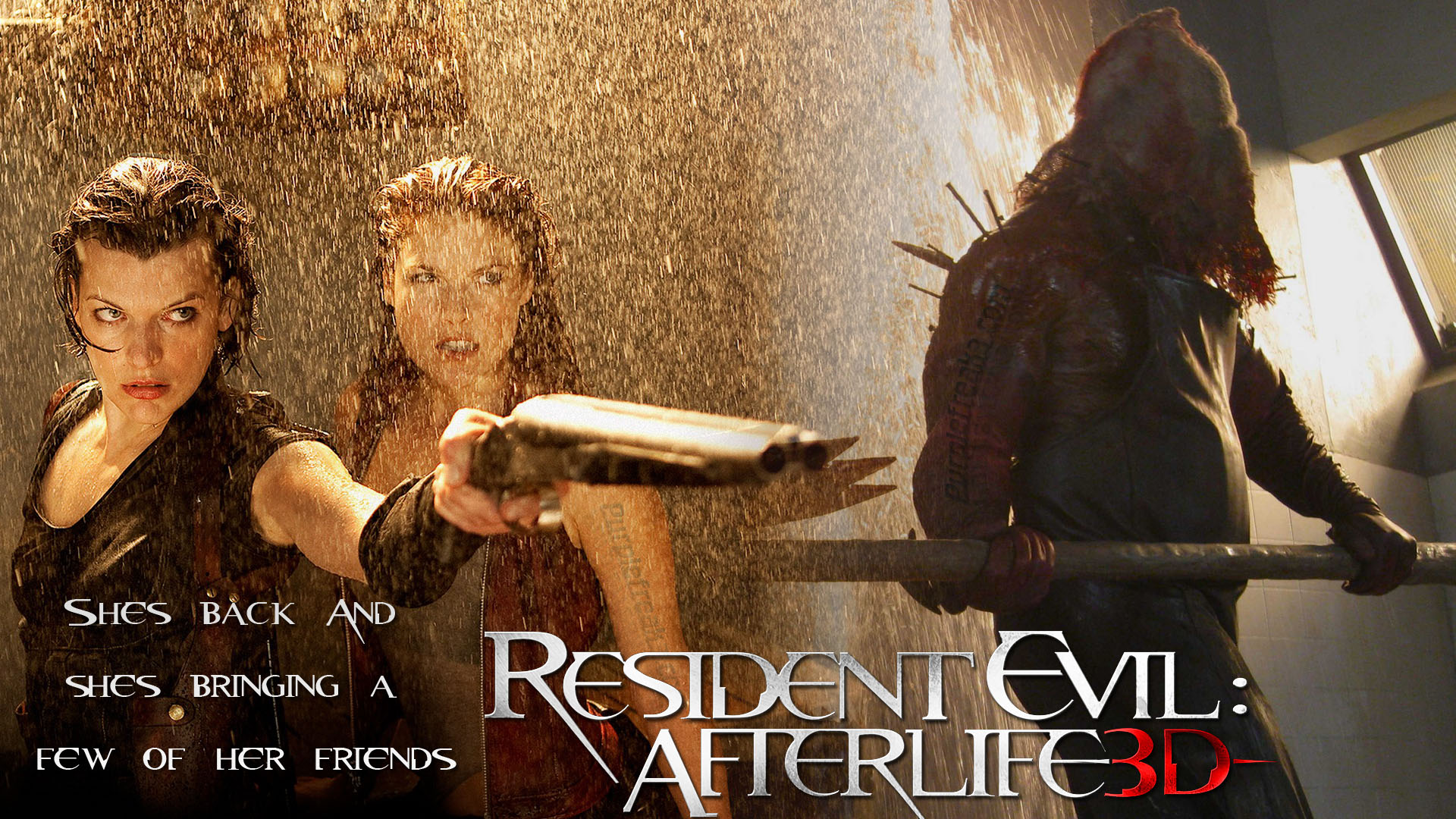 Resident Evil Afterlife HD Wallpaper