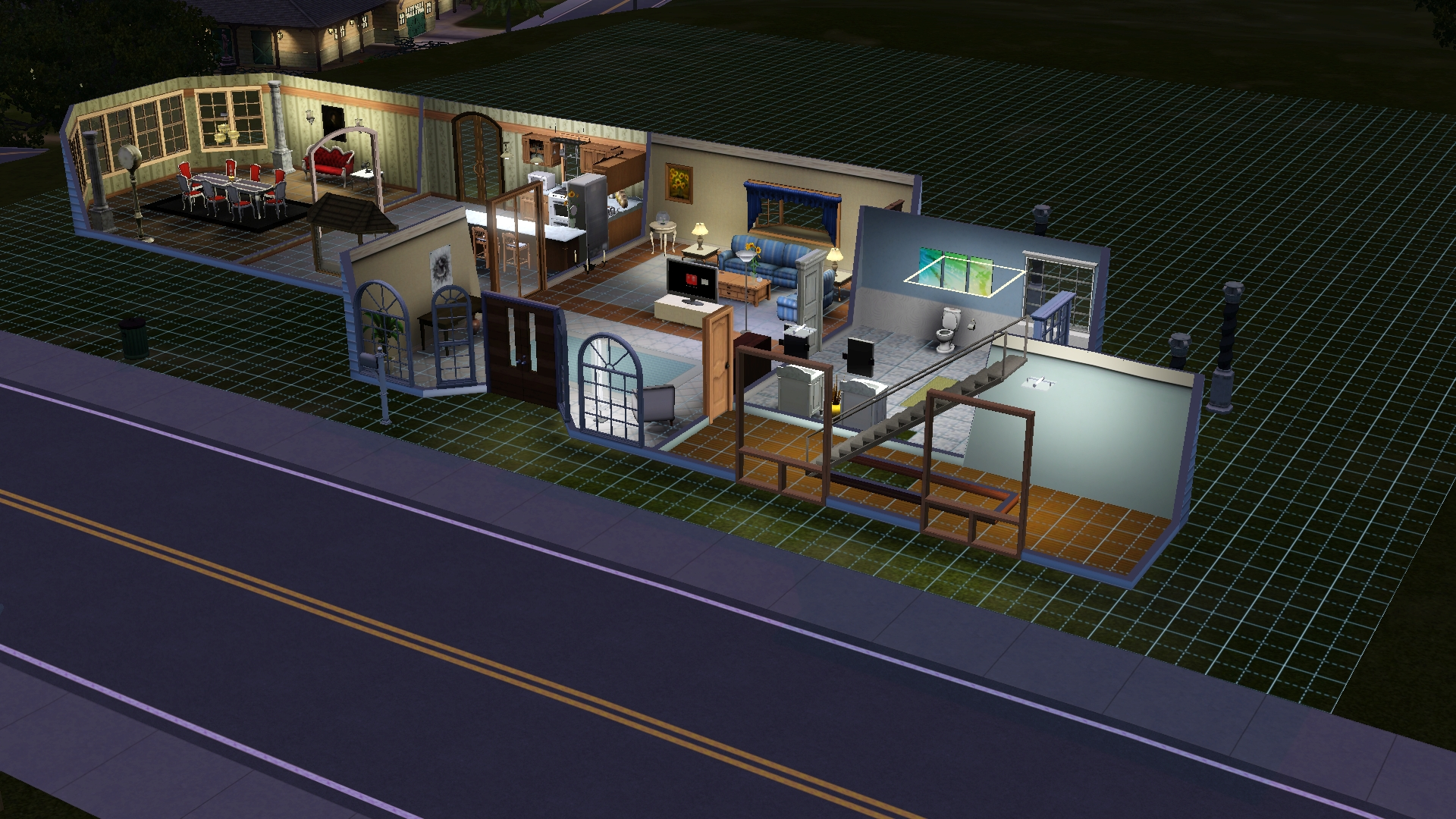 Sims 3 Pets House Blueprints