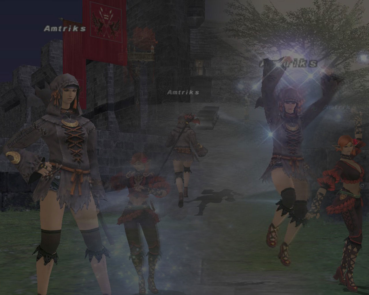 Final Fantasy XI Amtriks Wallpaper