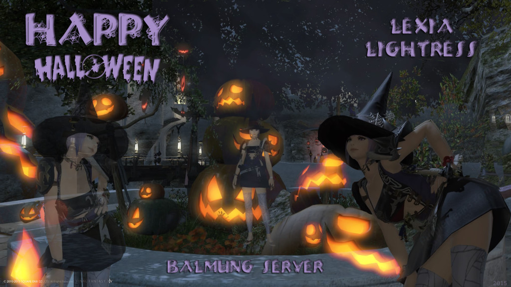 Lexia Lightress Happy Halloween 2015