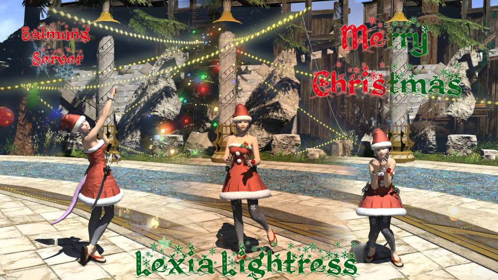 Lexia Lightress Christmas 2015