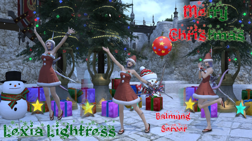 Lexia Lightress - Final Fantasy XIV - Merry Christmas